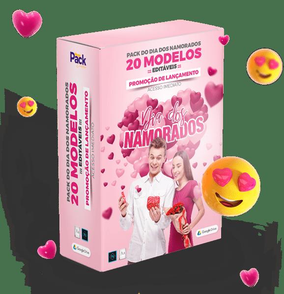 Pack dia dos Namorados - Mega Pack Criativo
