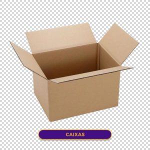Caixa papelão png