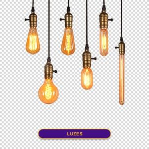 luzes png