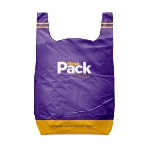Mockup Sacola Plástica - Mega Pack Criativo